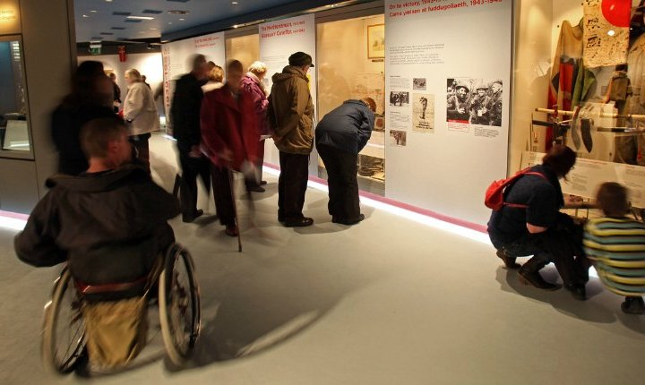 Firing Line Museum of the Welsh Soldier: Visitor Focus