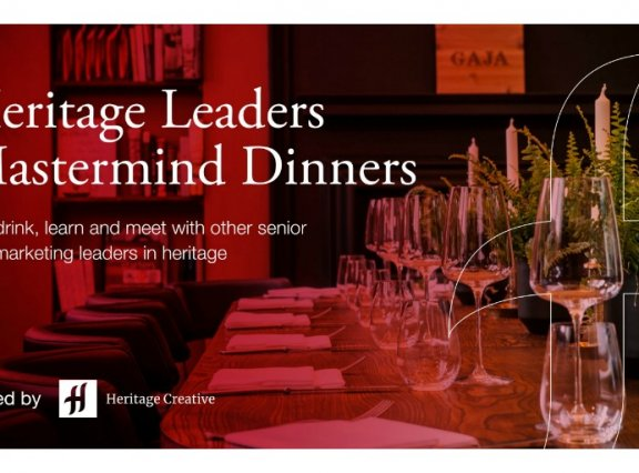 Discounted Offer For AIM Members: Heritage Leaders Mastermind Dinner